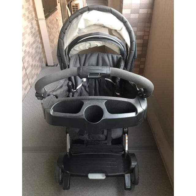 Greco(グレコ)のグレコ 縦型2人乗りベビーカー 説明書付き キッズ/ベビー/マタニティの外出/移動用品(ベビーカー/バギー)の商品写真