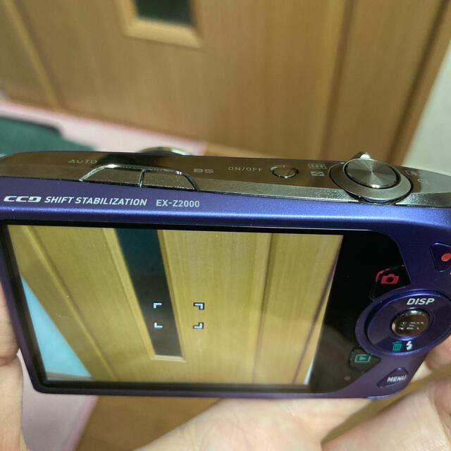 CASIO(カシオ)の動作品 CASIO EXILIM デジタルカメラ EX-Z2000 スマホ/家電/カメラのカメラ(コンパクトデジタルカメラ)の商品写真
