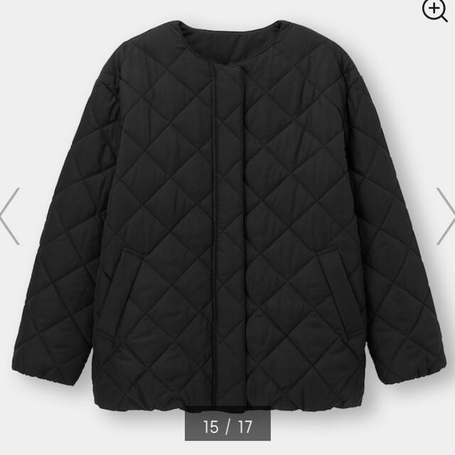GU(ジーユー)のGU キルティングブルゾン レディースのジャケット/アウター(ブルゾン)の商品写真
