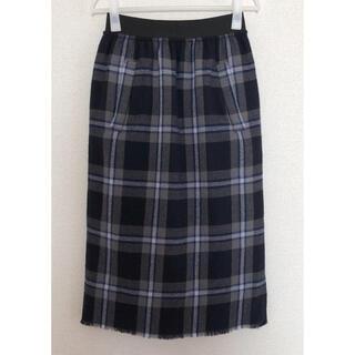 ルカ(LUCA)の《LUCA/LADY LUCK LUCA》チェックタイトスカート(ロングスカート)