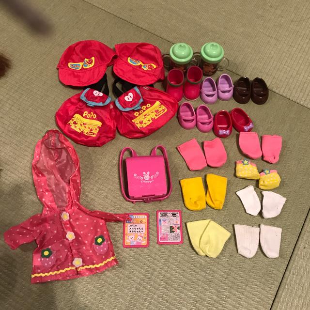 PILOT(パイロット)のメルちゃんねねちゃん人形6体とまとめ売りセット キッズ/ベビー/マタニティのおもちゃ(ぬいぐるみ/人形)の商品写真