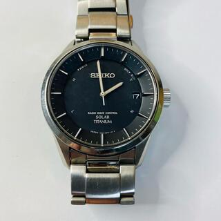 セイコー(SEIKO)のseiko solar titanium 7B24-0BB0 値下げ相談対応可(腕時計(アナログ))