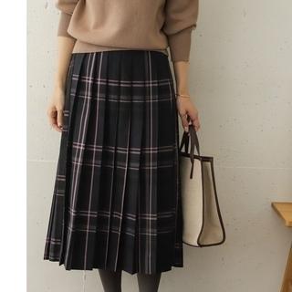 DOORS / URBAN RESEARCH - ☆新品タグ付き☆今季DOORS☆カラーチェックプリーツロングスカート