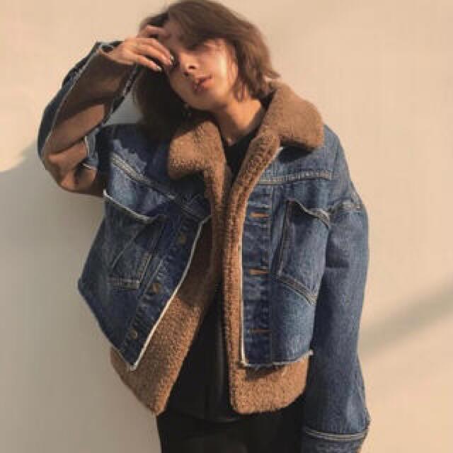 Ameri VINTAGE(アメリヴィンテージ)のameri vintage レディースのジャケット/アウター(Gジャン/デニムジャケット)の商品写真
