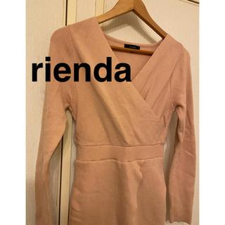 rienda - rienda ニットワンピ
