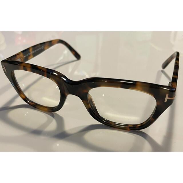 TOM FORD(トムフォード)のトムフォード サングラス 伊達メガネ キムタク着 さんタク 私物 メンズのファッション小物(サングラス/メガネ)の商品写真