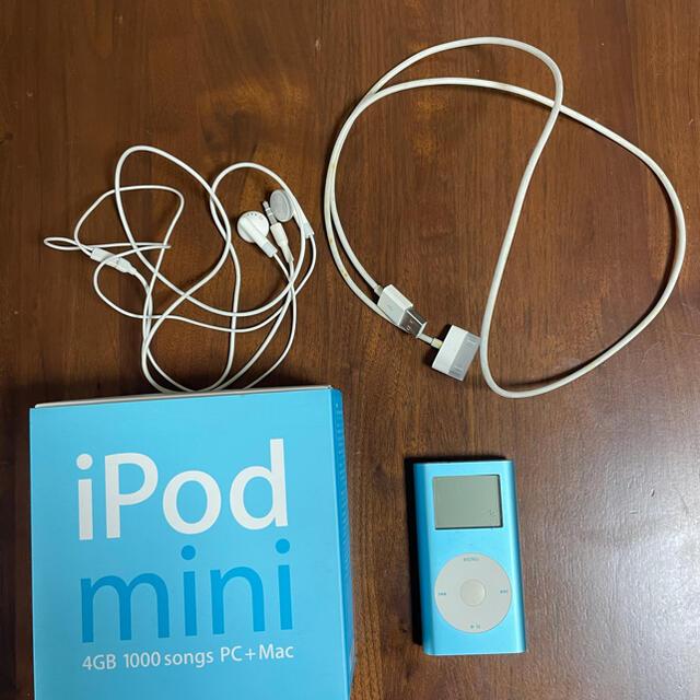 Apple(アップル)のipod mini 天下熊太郎様専用 スマホ/家電/カメラのオーディオ機器(ポータブルプレーヤー)の商品写真