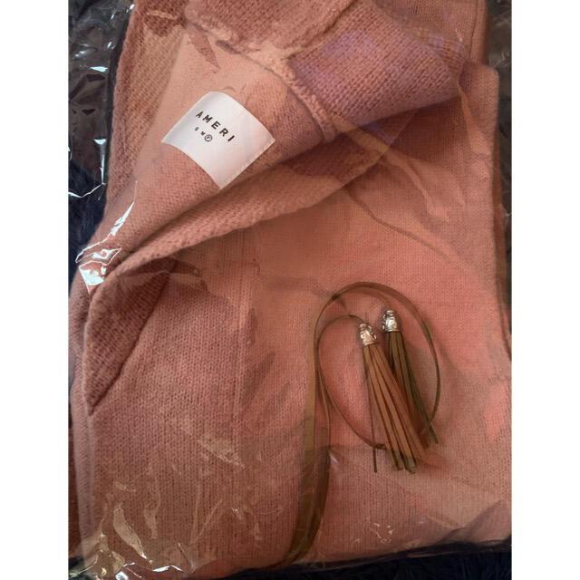Ameri VINTAGE(アメリヴィンテージ)の Ameri VINTAGE   NONNA KNIT VEST レディースのジャケット/アウター(ロングコート)の商品写真