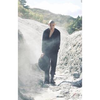 Yohji Yamamoto - soshi otsuki  KIMONO BREASTED THERMAL