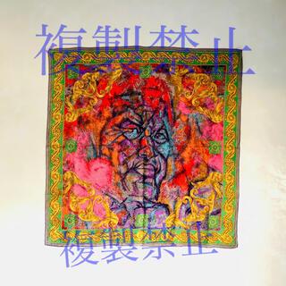 Jumbo  Ozaki original silk scarf(バンダナ/スカーフ)