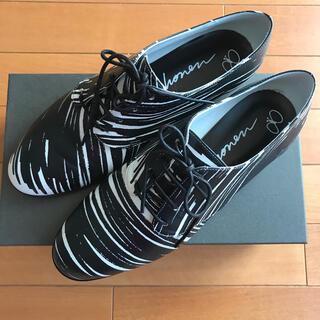 ミナペルホネン(mina perhonen)の10日まで限定値下げ!即完売!ミナペルホネン レザーシューズ 39サイズ(ローファー/革靴)