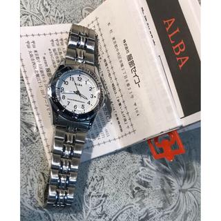 アルバ(ALBA)の★ SEIKO ALBA アルバ ホワイト盤面 レディース 腕時計 ★ 保管品(腕時計)