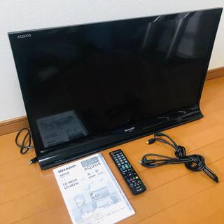 SHARP - シャープ 32V型 液晶 テレビ AQUOS LC-32J10-B