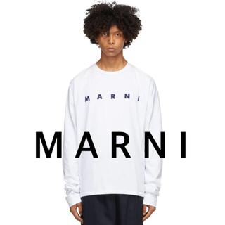 Marni - マルニ ロゴ ロングスリーブ Tシャツ 長袖 カットソー MARNI