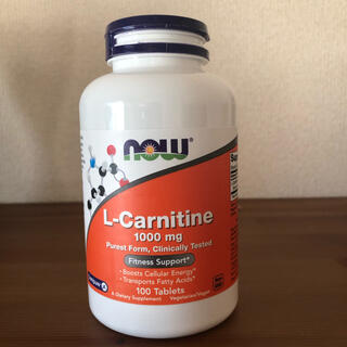 L カルニチン 1000mg Now Foods(その他)