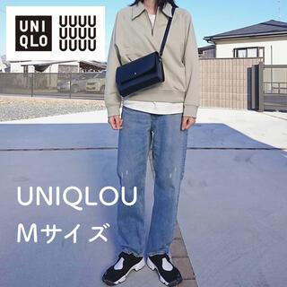 ユニクロ(UNIQLO)のUNIQLOU ユニクロユー スウェットハーフジップシャツ(トレーナー/スウェット)