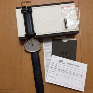 ダニエルウェリントン(Daniel Wellington)のダニエルウェリントン時計(腕時計(アナログ))