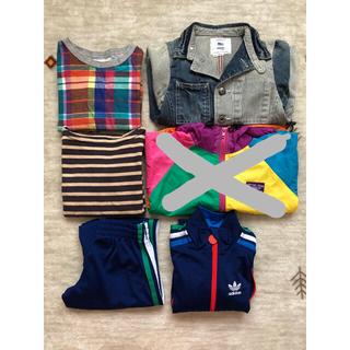 ゴートゥーハリウッド(GO TO HOLLYWOOD)の子供服  まとめ売り  110  120  アディダス   ゴートゥーハリウッド(Tシャツ/カットソー)