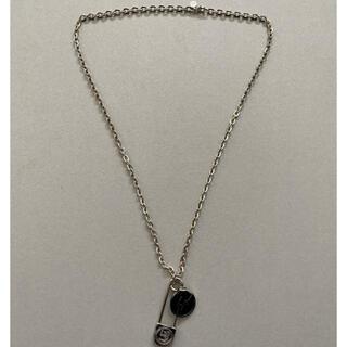 ユニフォームエクスペリメント(uniform experiment)の新品 uniform experiment SAFTY PIN NECKLACE(ネックレス)