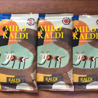 KALDI - 【カルディ】マイルドカルディ 3袋 KALDI コーヒー粉 中挽