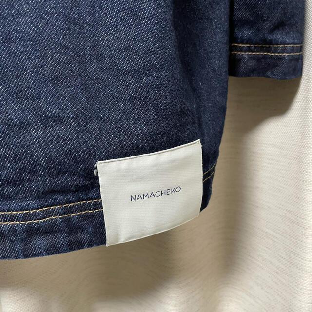 JOHN LAWRENCE SULLIVAN(ジョンローレンスサリバン)のナマチェコ NAMACHEKO デニムシャツ ジャケット 20aw メンズのジャケット/アウター(Gジャン/デニムジャケット)の商品写真