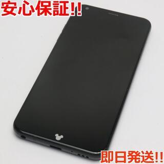 エルジーエレクトロニクス(LG Electronics)の美品 DM-01K ブラック 本体 白ロム (スマートフォン本体)
