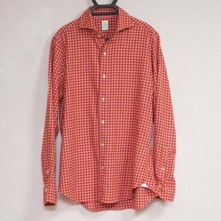 フィナモレ(FINAMORE)のFinamore フィナモレ イタリア製 極上生地 最高級シャツ 美品(シャツ)