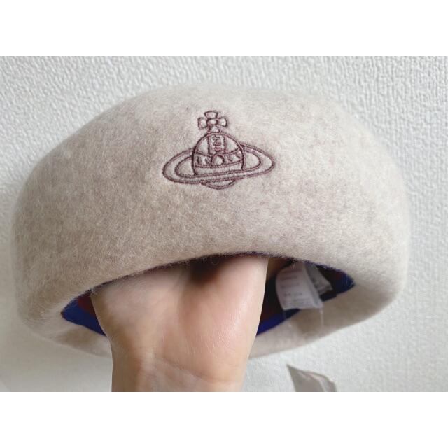 Vivienne Westwood(ヴィヴィアンウエストウッド)のVivienne Westwood ベレー帽 レディースの帽子(ハンチング/ベレー帽)の商品写真