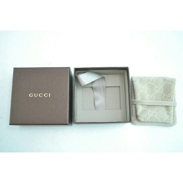 Gucci(グッチ)の【USED】GUCCI グッチ Gロゴピアス シルバー フック 箱付き レディースのアクセサリー(ピアス)の商品写真