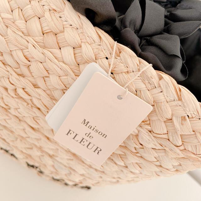 Maison de FLEUR(メゾンドフルール)のメゾンドフルール かごバッグ レディースのバッグ(かごバッグ/ストローバッグ)の商品写真