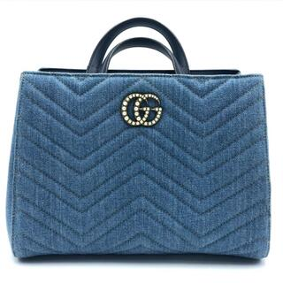 Gucci - グッチ 448054 キルティング 2WAYバッグ 日本限定 GGマーモント