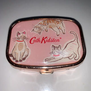 キャスキッドソン(Cath Kidston)のキャスキッドソン リップバームコンパクト キャッツ(リップグロス)