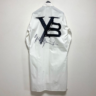 ワイスリー(Y-3)のY-3 15周年 アジア限定 ヨウジシャツアート1 バック ロゴ ロング シャツ(シャツ)