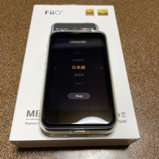 FiiO M6 スマホ/家電/カメラのオーディオ機器(ポータブルプレーヤー)の商品写真