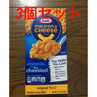 コストコ(コストコ)のマカロニチーズ 3箱セット(インスタント食品)