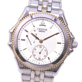 セイコー(SEIKO)のセイコー クレドール パシフィーク  CGAY990  ステンレス(腕時計(アナログ))