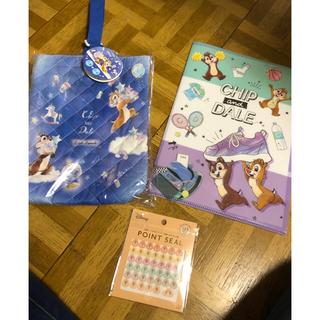 ディズニー(Disney)のチップとデール上履き袋☆新品(シューズバッグ)
