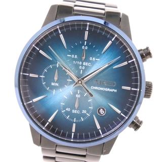 セイコー(SEIKO)のセイコー WIRED ワイアード クロノグラフ VD57-KJD0(腕時計(アナログ))