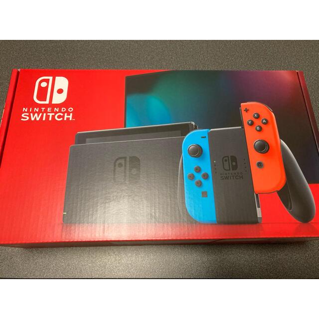Nintendo Switch(ニンテンドースイッチ)の新品 任天堂 ニンテンドースイッチ 本体 ネオン 新型 エンタメ/ホビーのゲームソフト/ゲーム機本体(家庭用ゲーム機本体)の商品写真