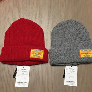 ヒステリックミニ(HYSTERIC MINI)のヒステリックミニ ニット帽 L 新品(帽子)