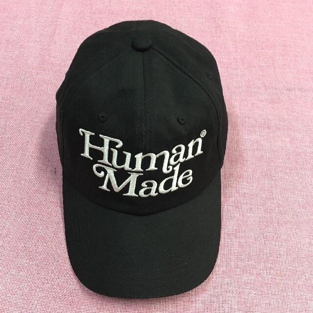 A BATHING APE(アベイシングエイプ)のgirls don't cry human made TWILL CAP 黒 メンズの帽子(キャップ)の商品写真