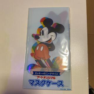 ディズニー(Disney)のミッキー&ミニーデザイン マスクケース(その他)