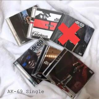 【送料込み】AK-69 シングル まとめ売り(ヒップホップ/ラップ)