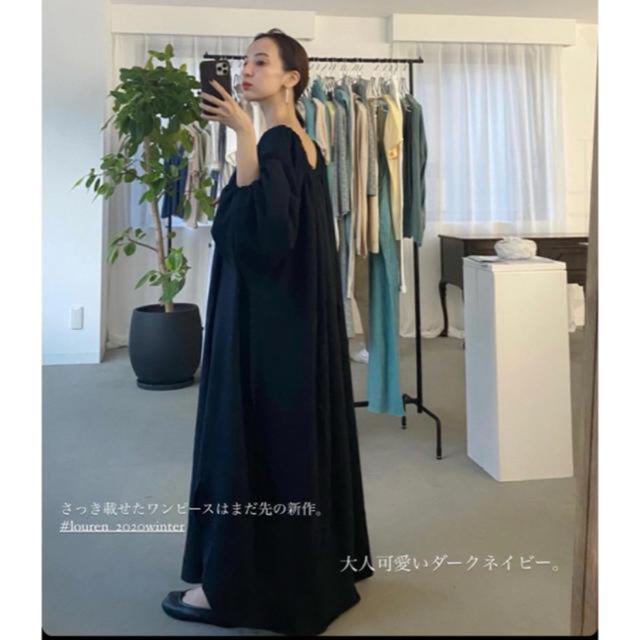 TODAYFUL(トゥデイフル)のlouren balloon sleeve volume dress  レディースのワンピース(ロングワンピース/マキシワンピース)の商品写真