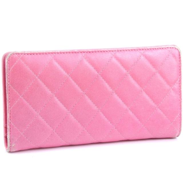 CHANEL(シャネル)のシャネル マトラッセ グラデーション    ラムスキン     ピ レディースのファッション小物(財布)の商品写真