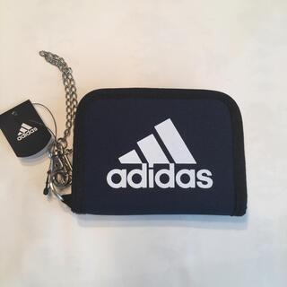 アディダス(adidas)の新品 アディダス 折り財布  ビッグロゴ(折り財布)