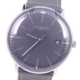 ユンハンス(JUNGHANS)のユンハンス マックスビル メガ  058/4823.00  ステン(腕時計(アナログ))