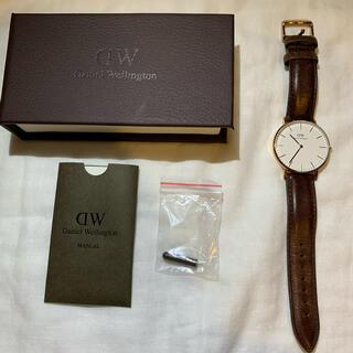 ダニエルウェリントン(Daniel Wellington)のダニエルウェリントン 腕時計 ブラウン(腕時計)