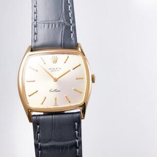 ROLEX - 【仕上済】ロレックス ジュネーヴ チェリーニ スクエア K18 メンズ 腕時計