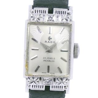 ラドー(RADO)のラドー INCABLOC 23石  4543  Pt850プラチナ(腕時計)